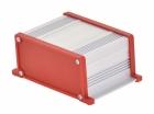 Корпус UNI-M-BOX-100-01RD (анод. алюминиевый, красный)