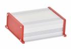 Корпус UNI-M-BOX-170-01RD (анод. алюминиевый, красный)