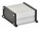 Корпус UNI-S-BOX-070-01BL (анод. алюминиевый, черный)