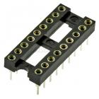 SOCKET SCSM-18 DIP-18x2.54(18p)(цанговые)