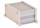 Корпус UNI-S-BOX-050-01BE (анод. алюминиевый, бежевый)