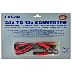 CVT-20A преобразователь напряжения 24V в 12V, 20А