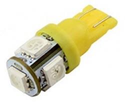 Лампа автомобильная LED-L194 T10 [yellow]под цоколь