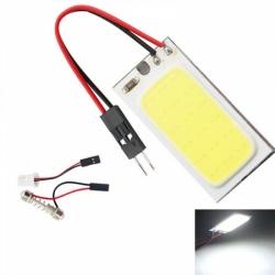 Лампа автомобильная LED-COB 18 CHIPпанель [white] BL2