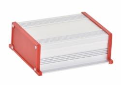 Корпус UNI-M-BOX-130-01RD (анод. алюминиевый, красный)