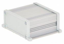 Корпус UNI-S-BOX-100-01GR (анод. алюминиевый, серый)