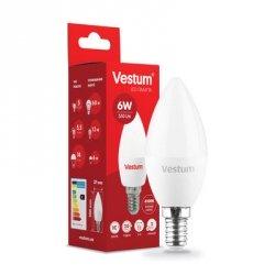 Лампа LED C37 6W 4100K 220V E14