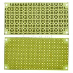 Плата макетная односторонняя SMP50100 50x100mm