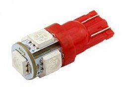 Лампа автомобільна LED-L194T10 [red]під цоколь