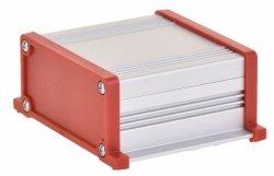 Корпус UNI-S-BOX-070-01RD (анод. алюминиевый, красный)
