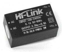 HLK-PM03_модуль питания 3,3V/3W